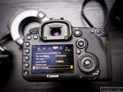 Как настроить Canon 7D Mark II. Часть II